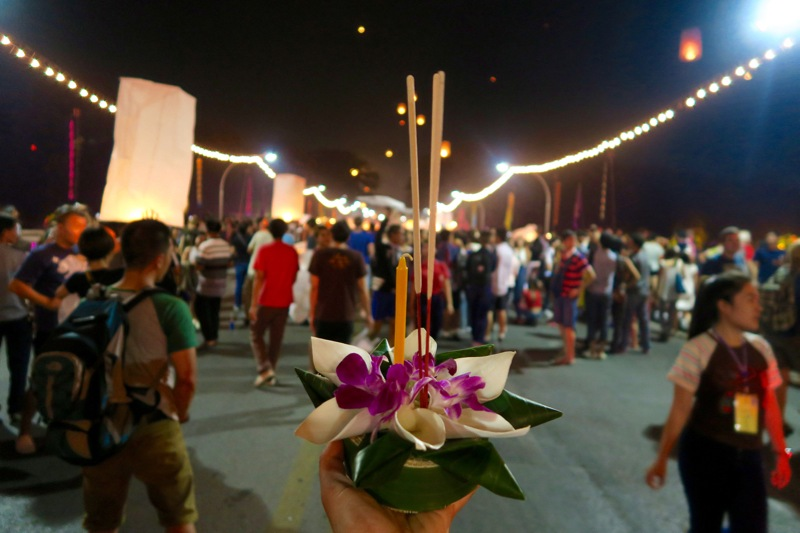 Loi Krathong Chiang Mai - 16 of 48