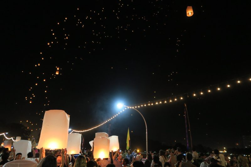 Loi Krathong Chiang Mai - 18 of 48