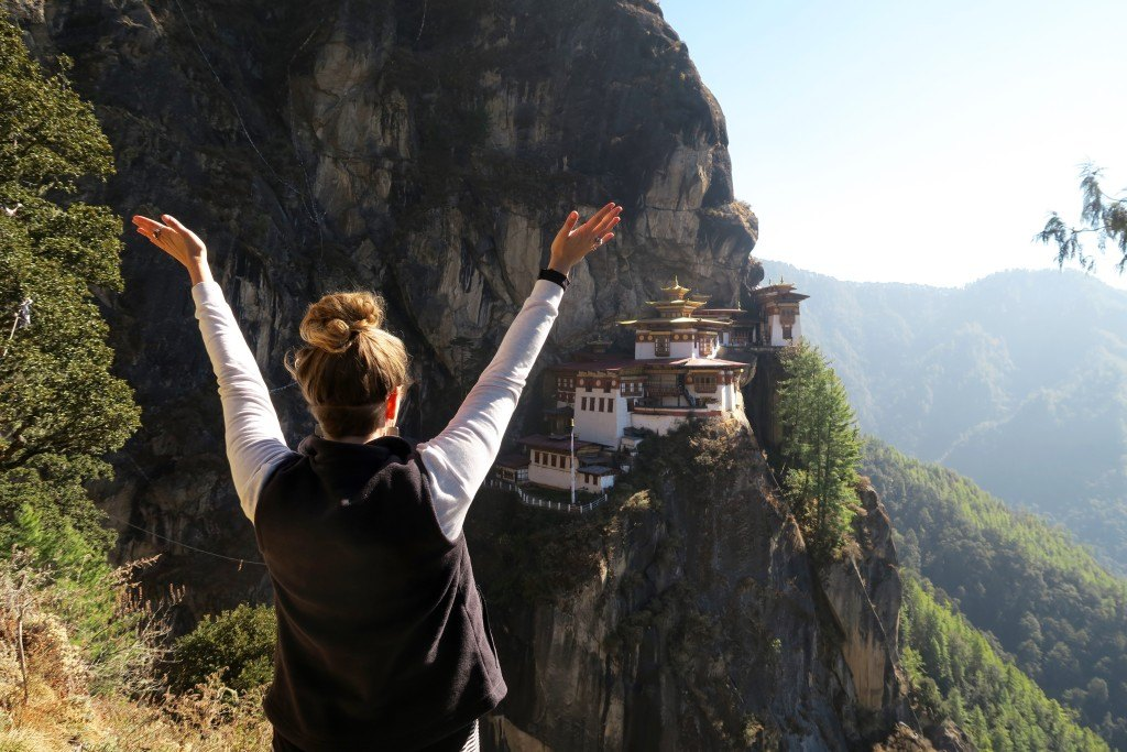 How much does it cost to visit Bhutan 9