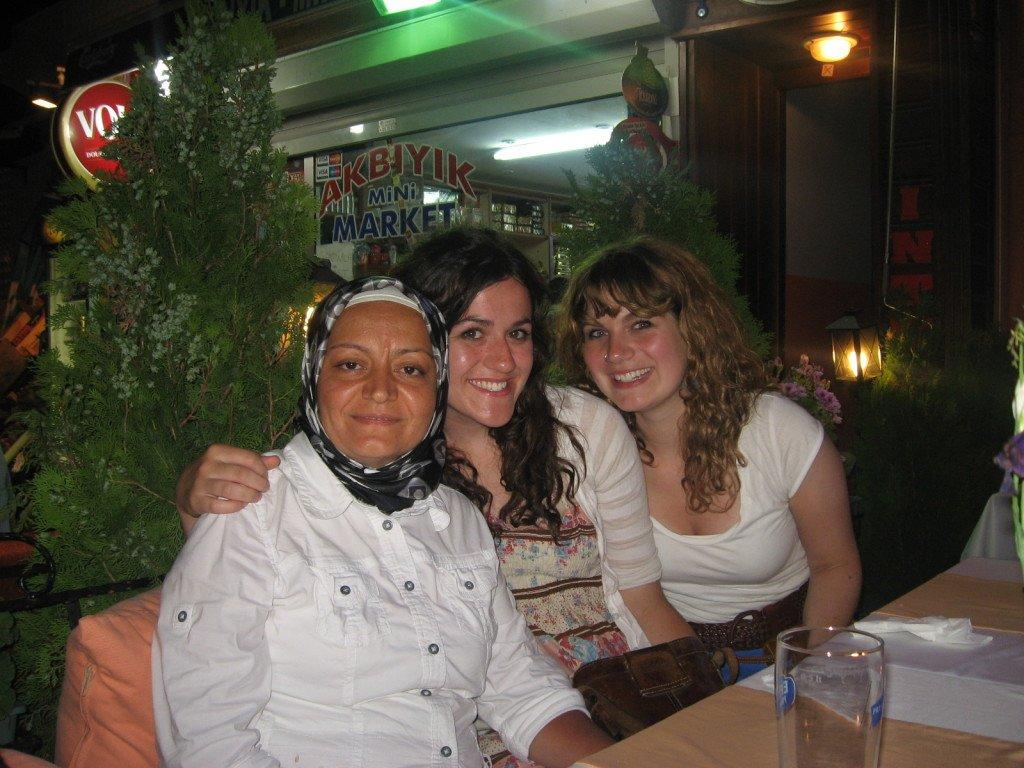 Brenna and Kerri in Turkey