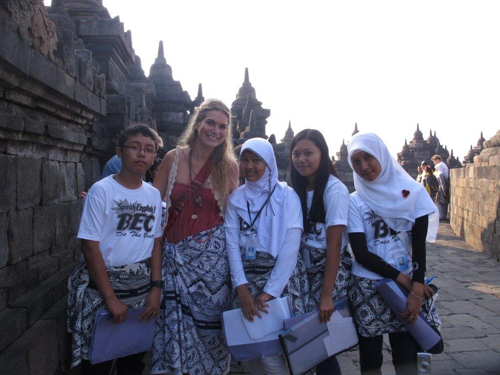 Brenna in Indonesia