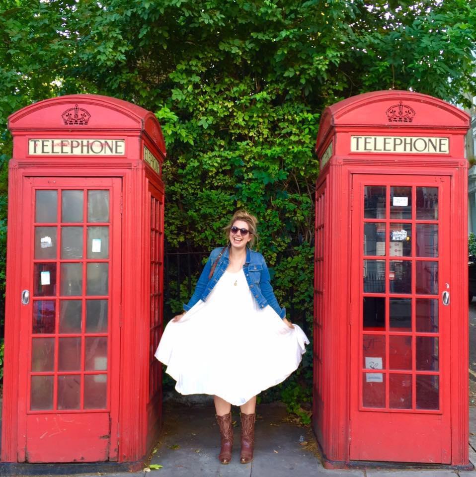 Brenna in London