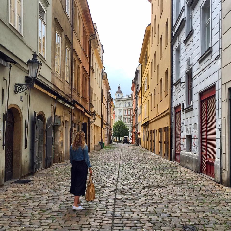 Brenna in Prague