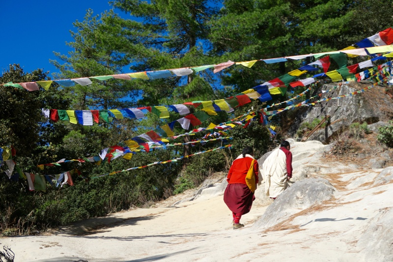 Hiking to Tiger's Nest Bhutan - 11 of 34