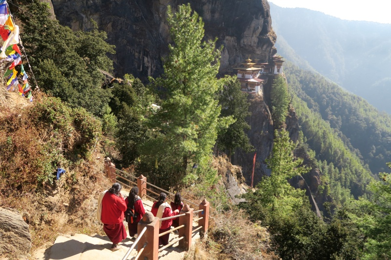 Hiking to Tiger's Nest Bhutan - 14 of 34