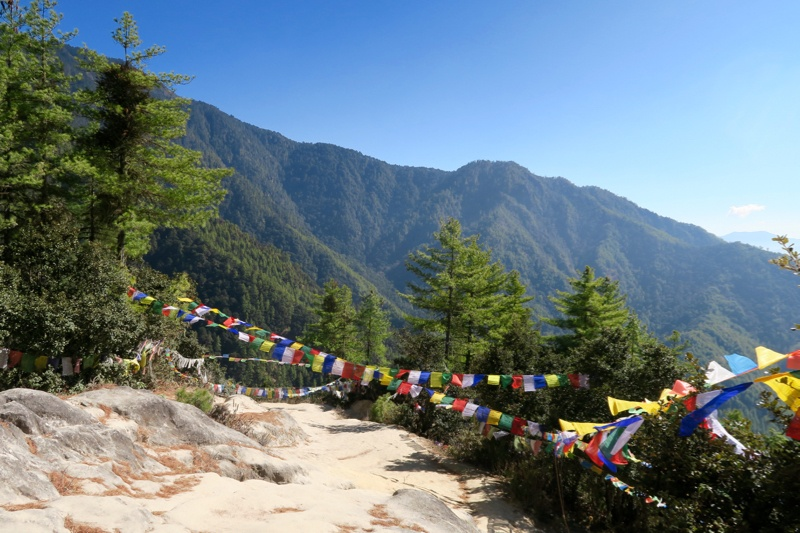 Hiking to Tiger's Nest Bhutan - 30 of 34