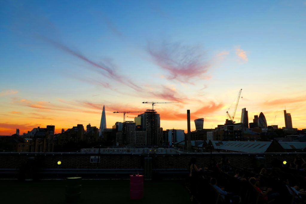 Rooftop Cinema London 3