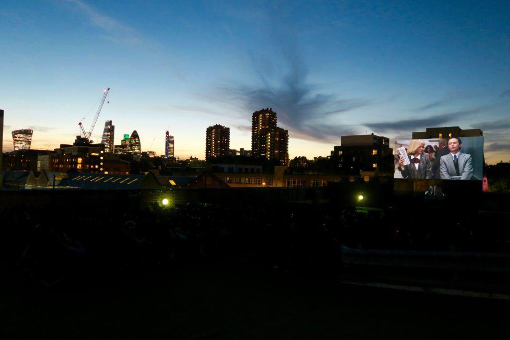 Rooftop Cinema London 5