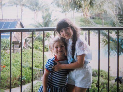 Brenna and Zalie Hawaii