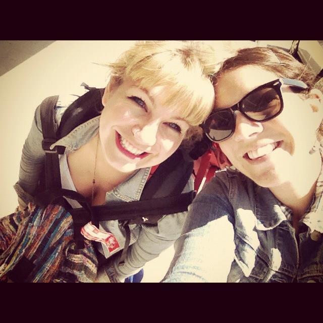 Brenna and Zalie airport