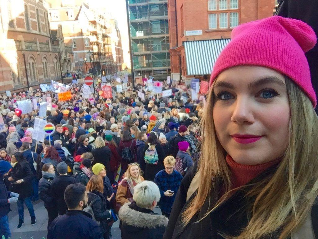 Women's March London 1