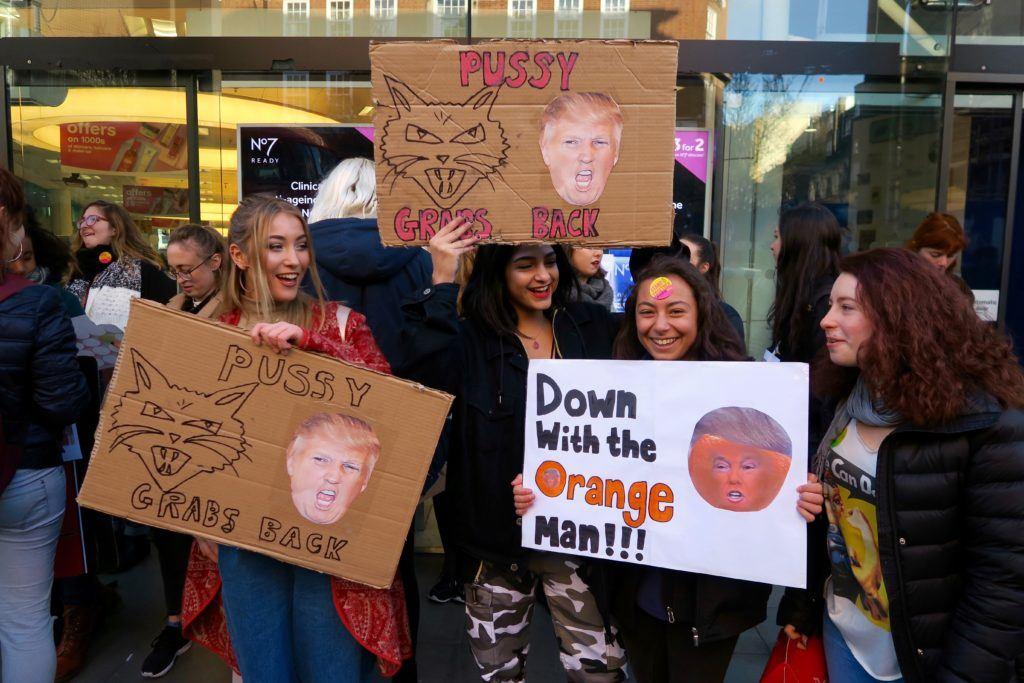 Women's March London 2