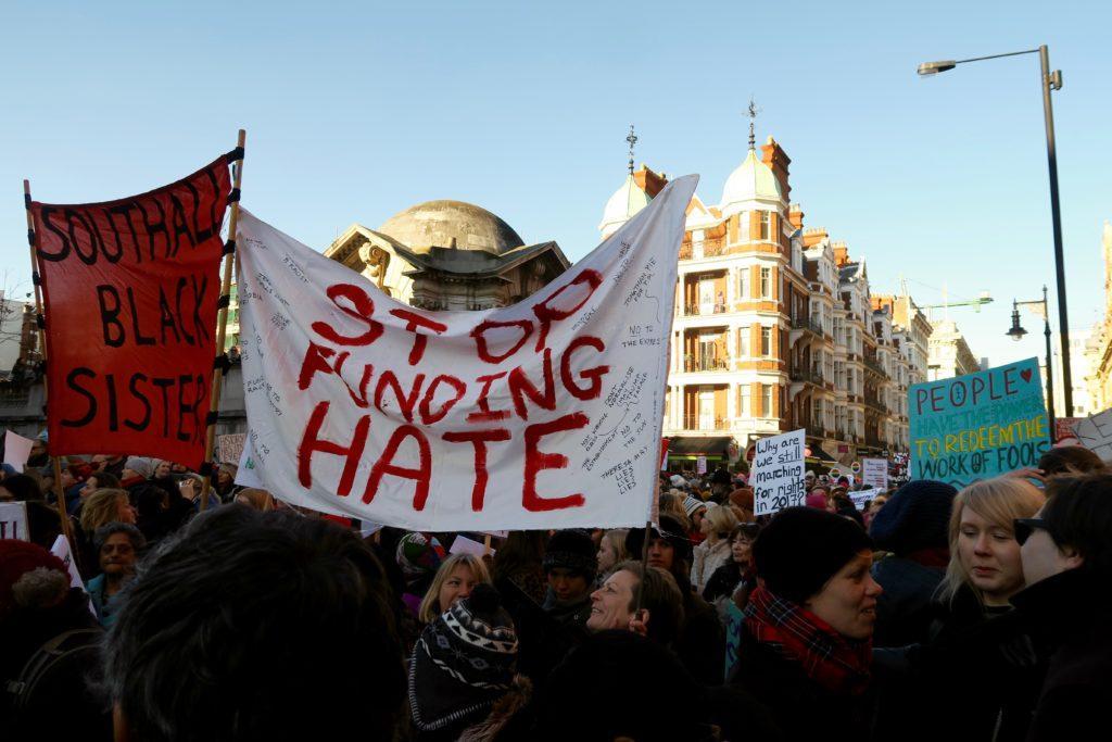 Women's March London 3