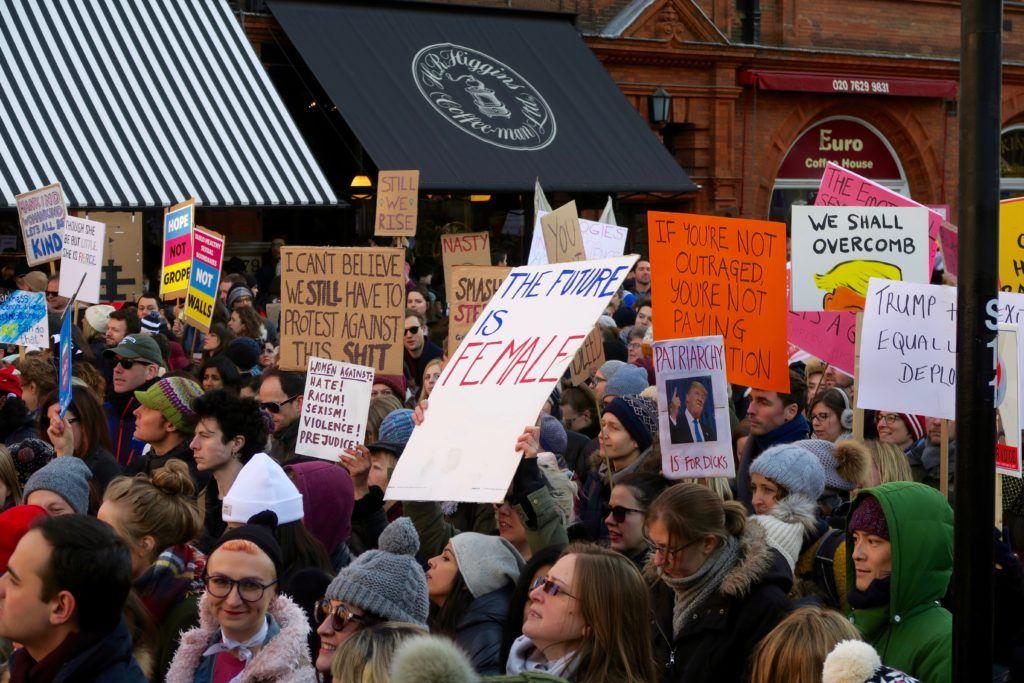 Women's March London 5