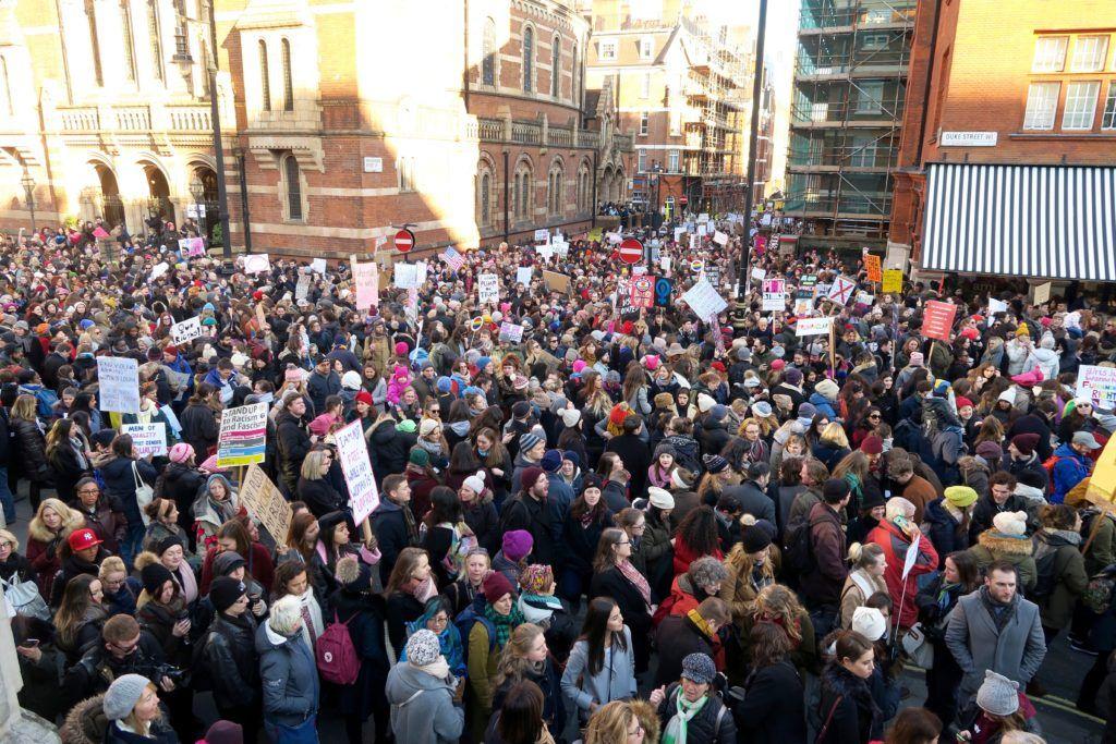 Women's March London 6