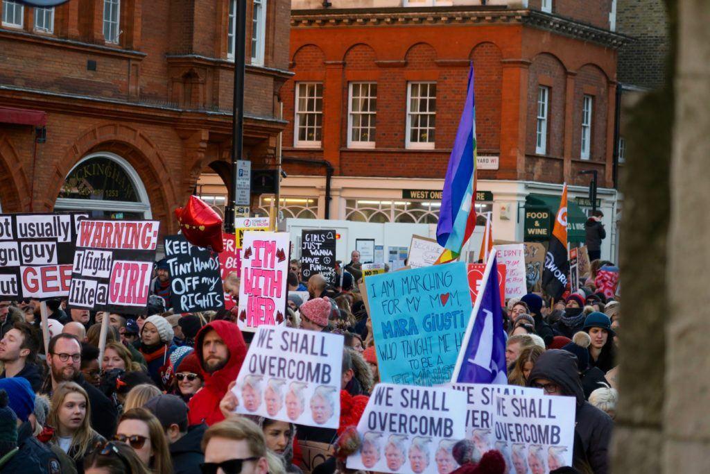 Women's March London 7