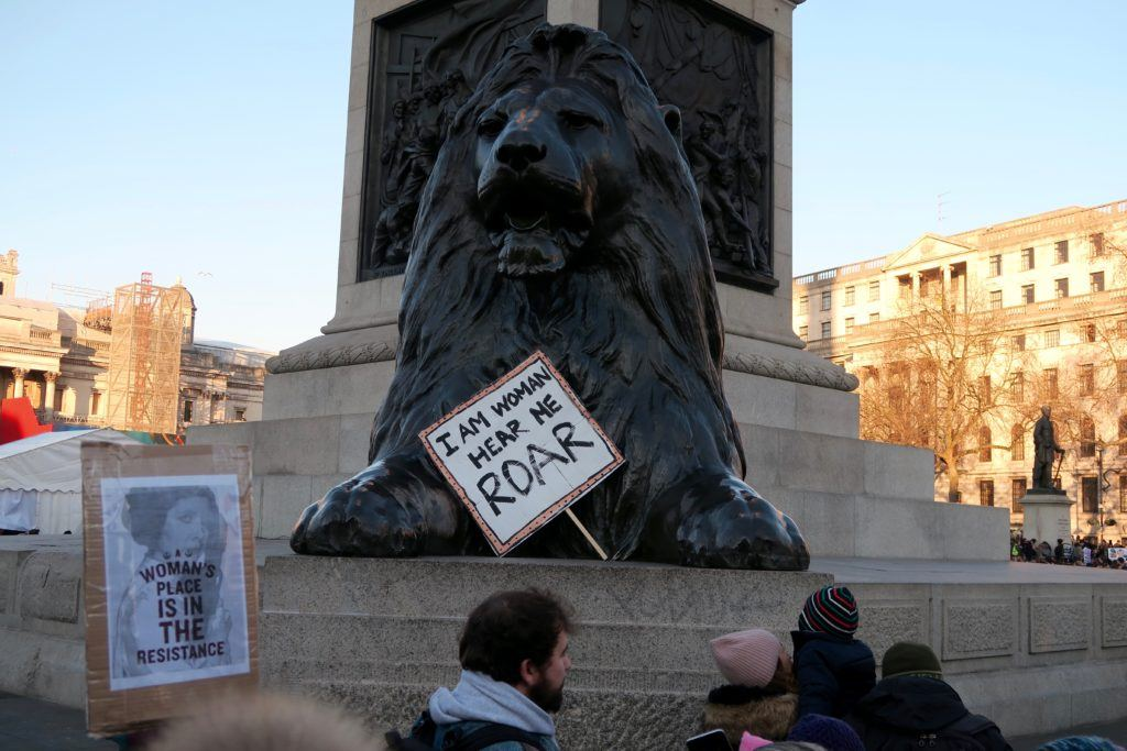 Women's March London 8