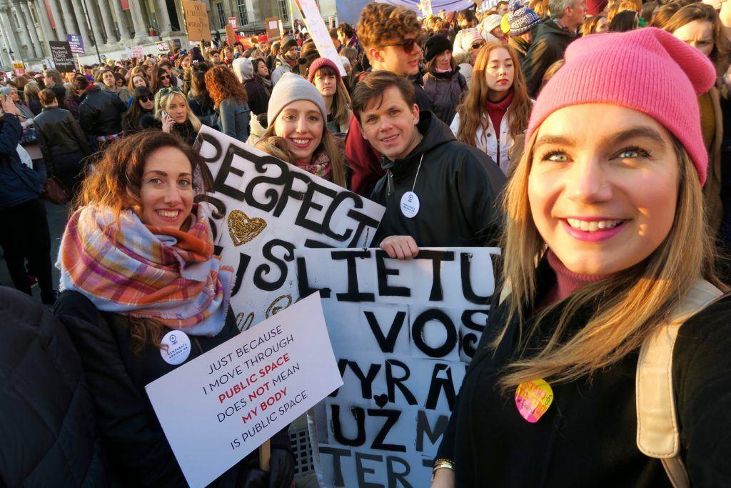 Women's March London 9
