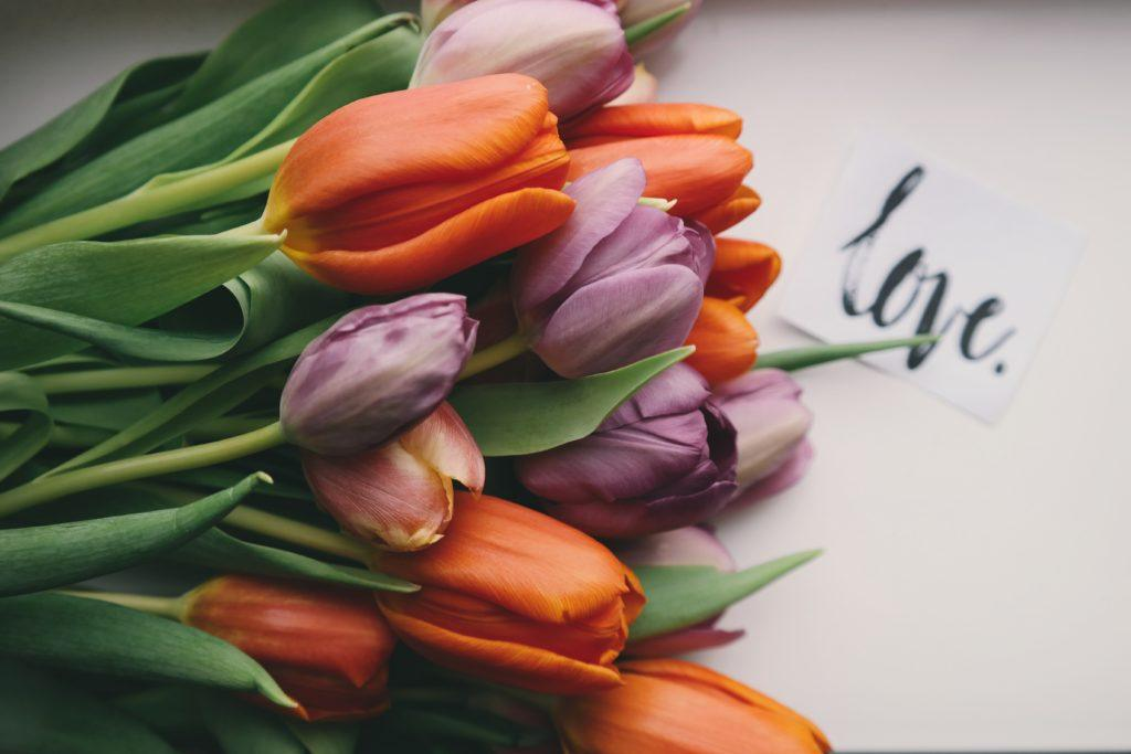 love bombing - warning signs (flowers)