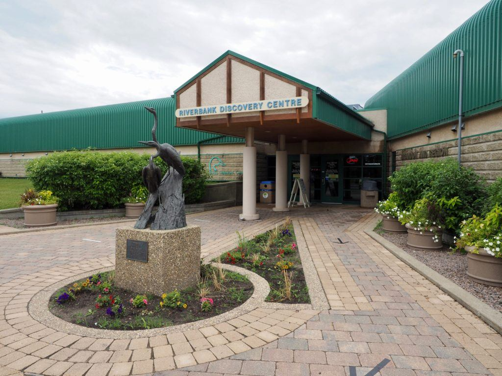 Brandon Manitoba riverbank centre