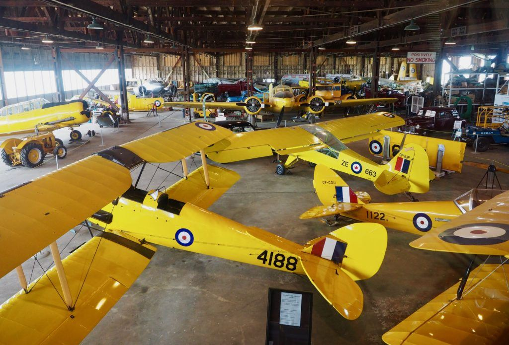 commonwealth air training plan museum Brandon