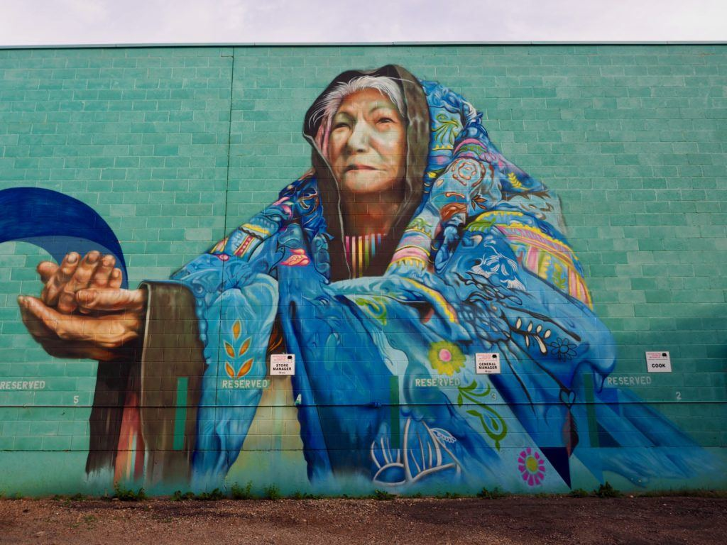 Brandon Manitoba murals