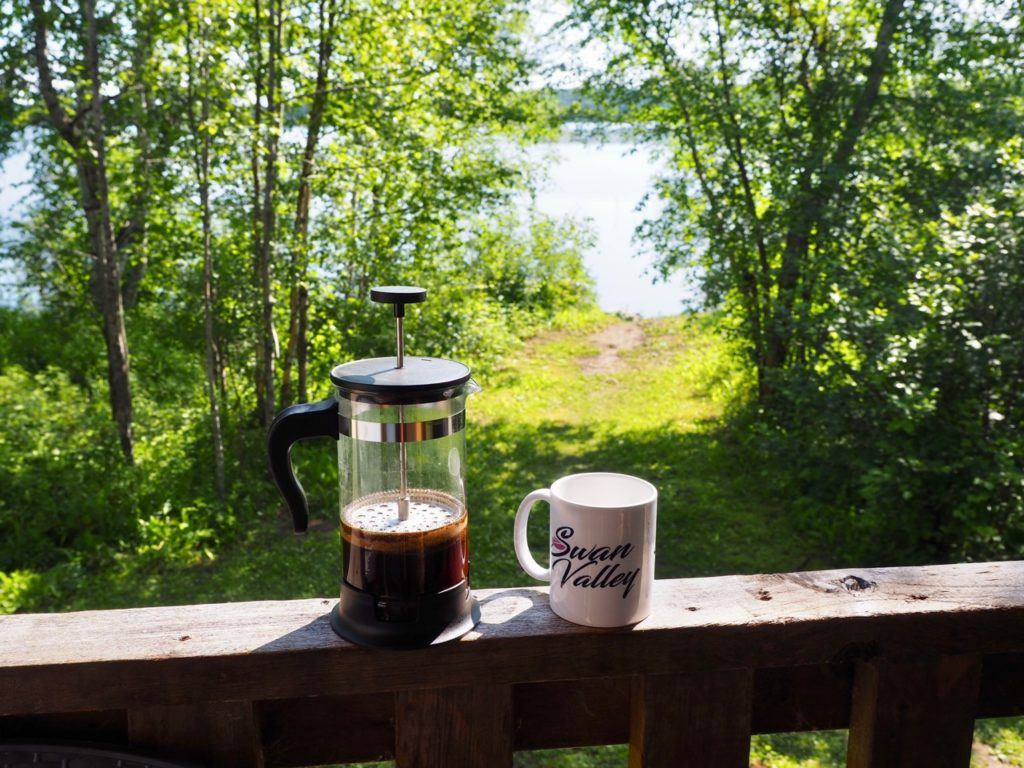 Coffee in Swan Valley Manitoba