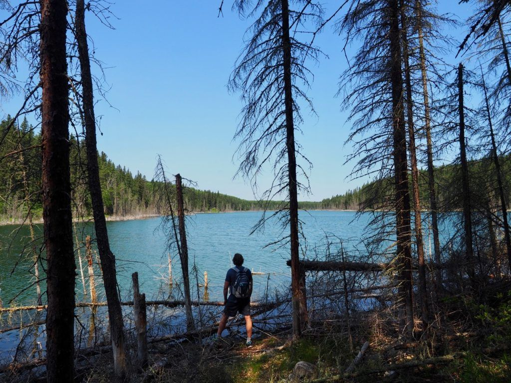 Blue Lakes Trail Manitoba