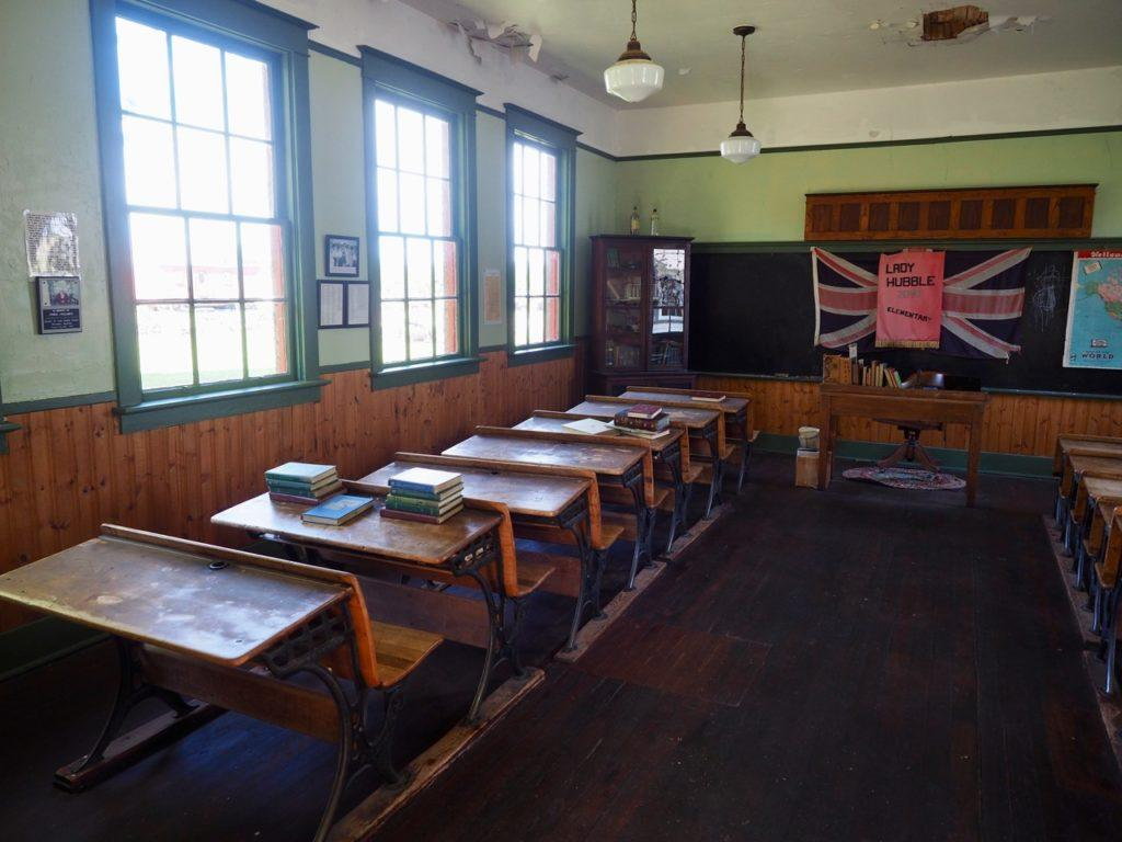 Swan Valley Historical Museum schoolroom