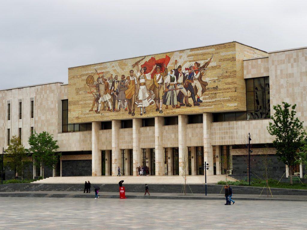 National Museum of History Tirana Albania