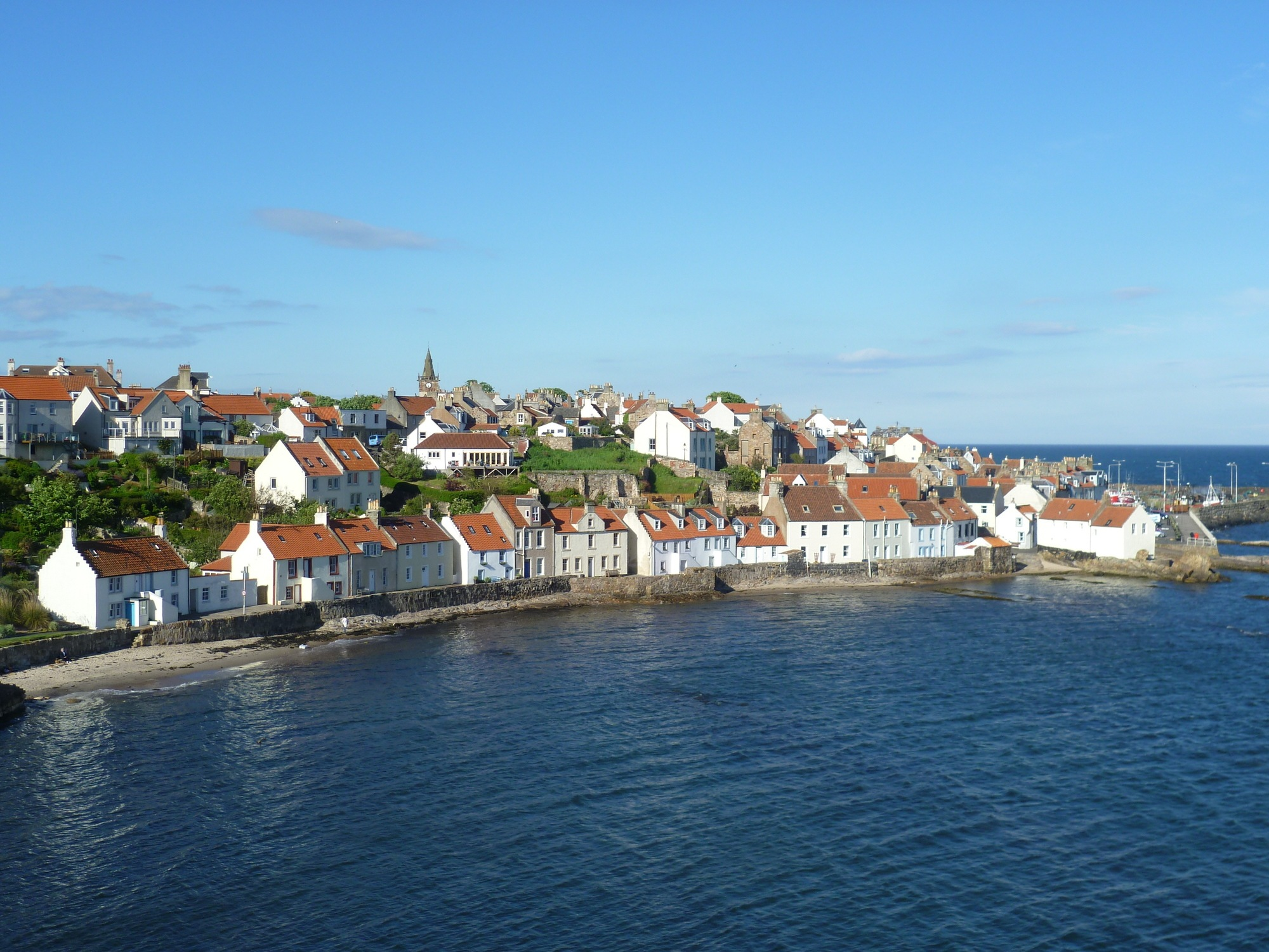 Best Seaside Towns in UK - Pittenweem, Scotland