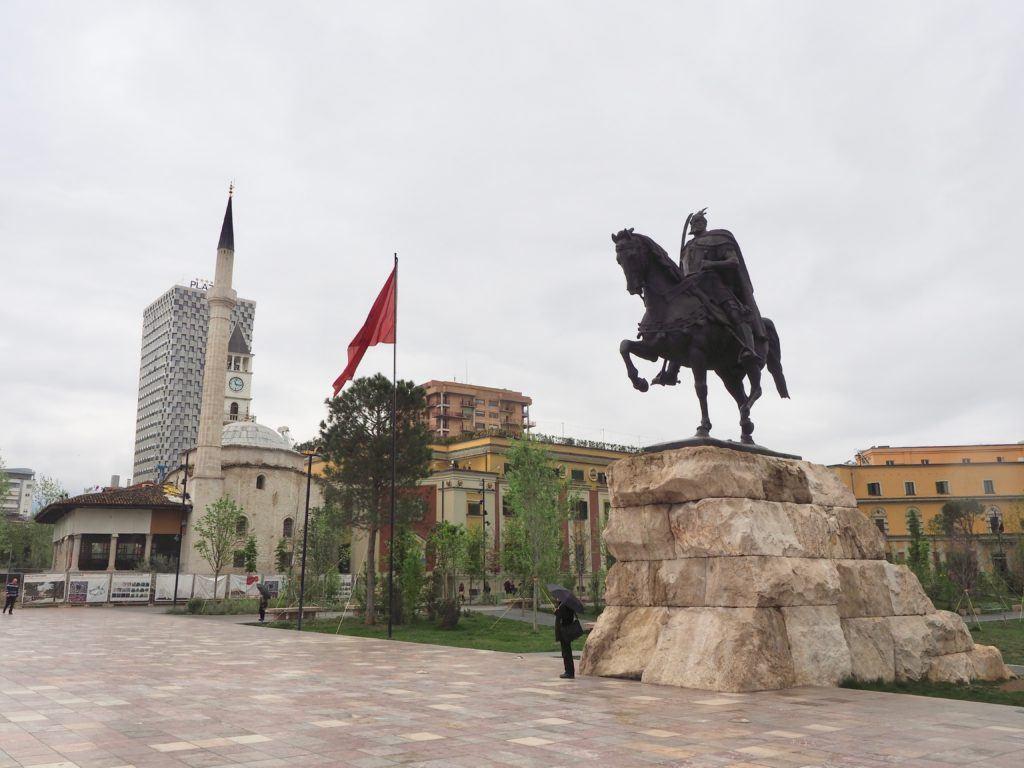 best things to do in tirana Albania skanderberg square