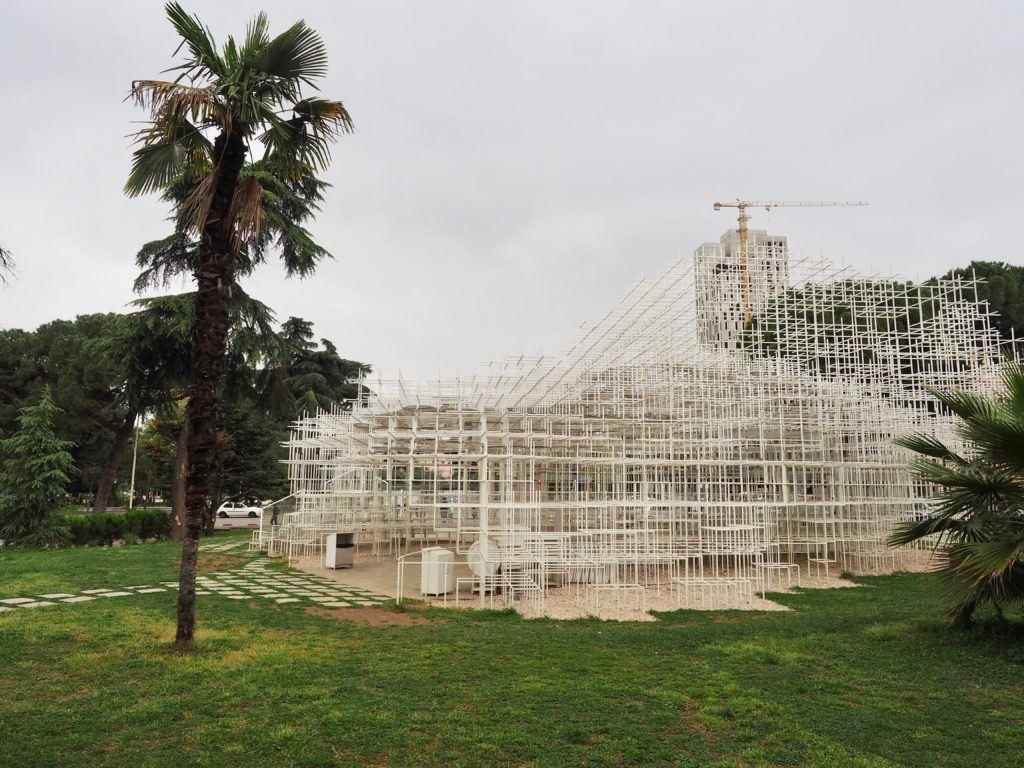 The Cloud in Tirana Albania