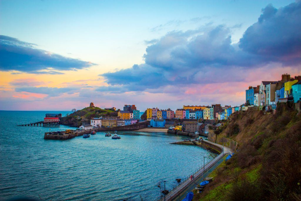 best seaside towns in the UK Tenby Wales