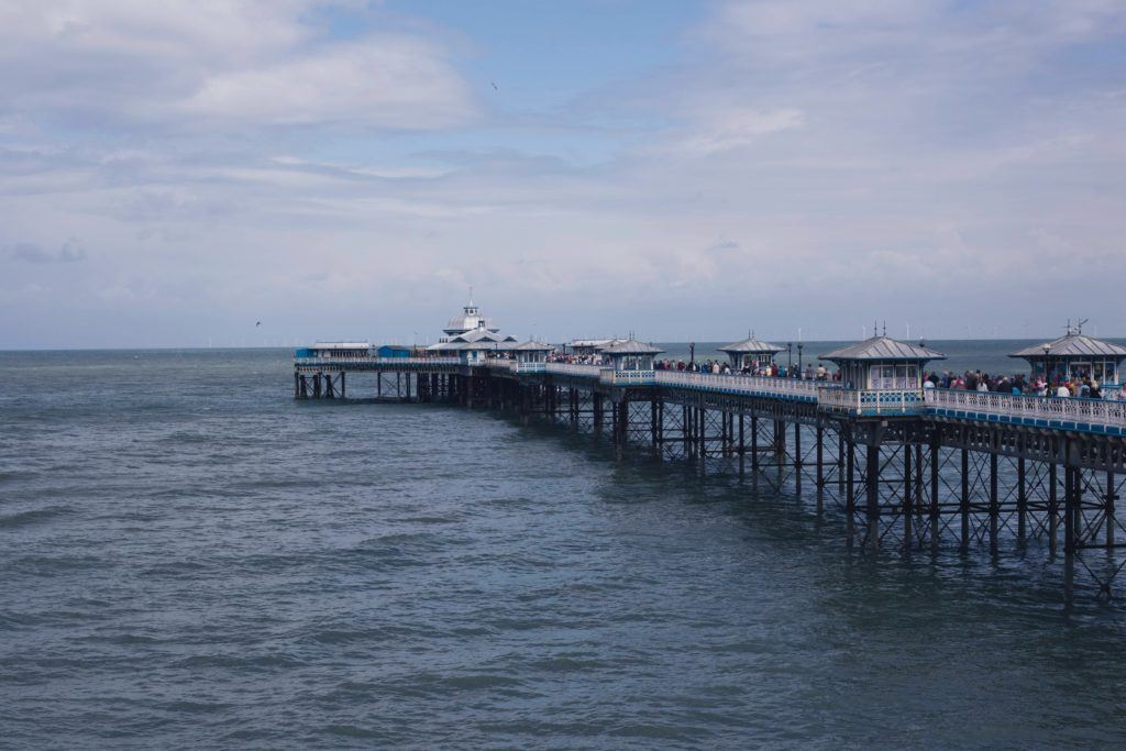 llandudno Wales seaside town