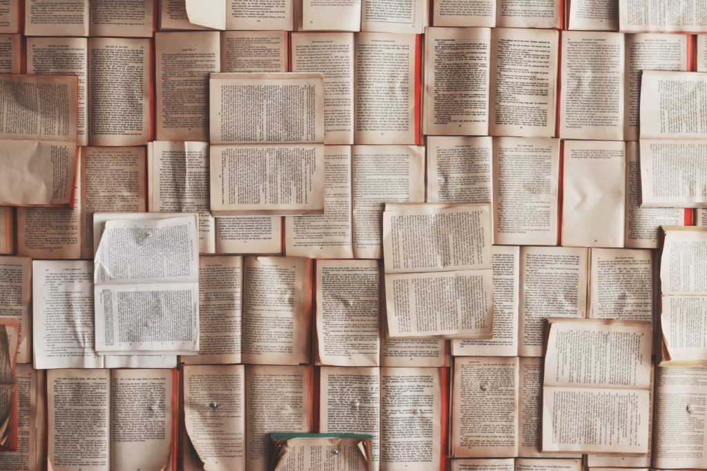 pages of books - reading more books