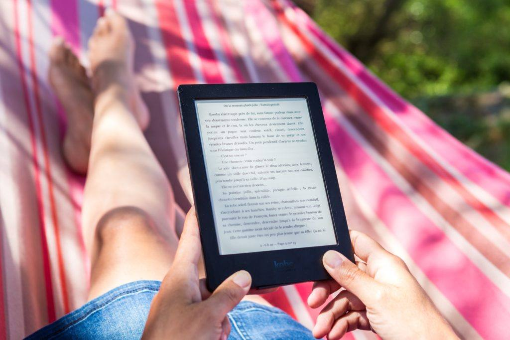 reading on a tablet - how to read more books