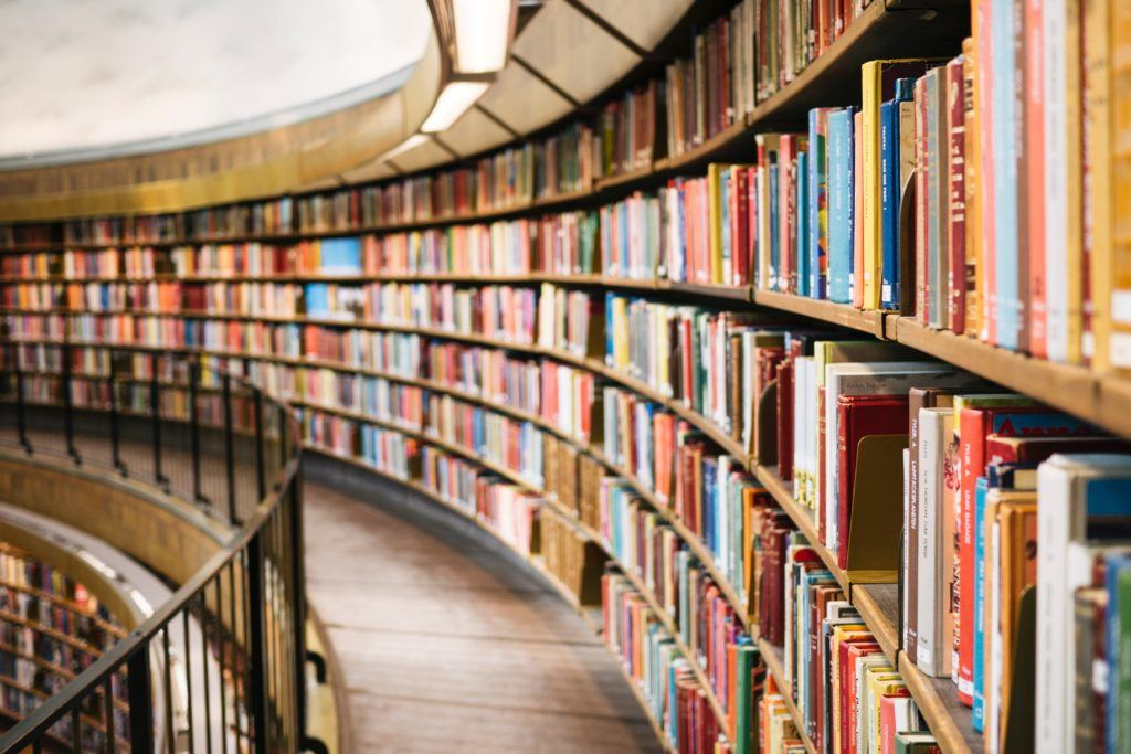 how to read more books - library