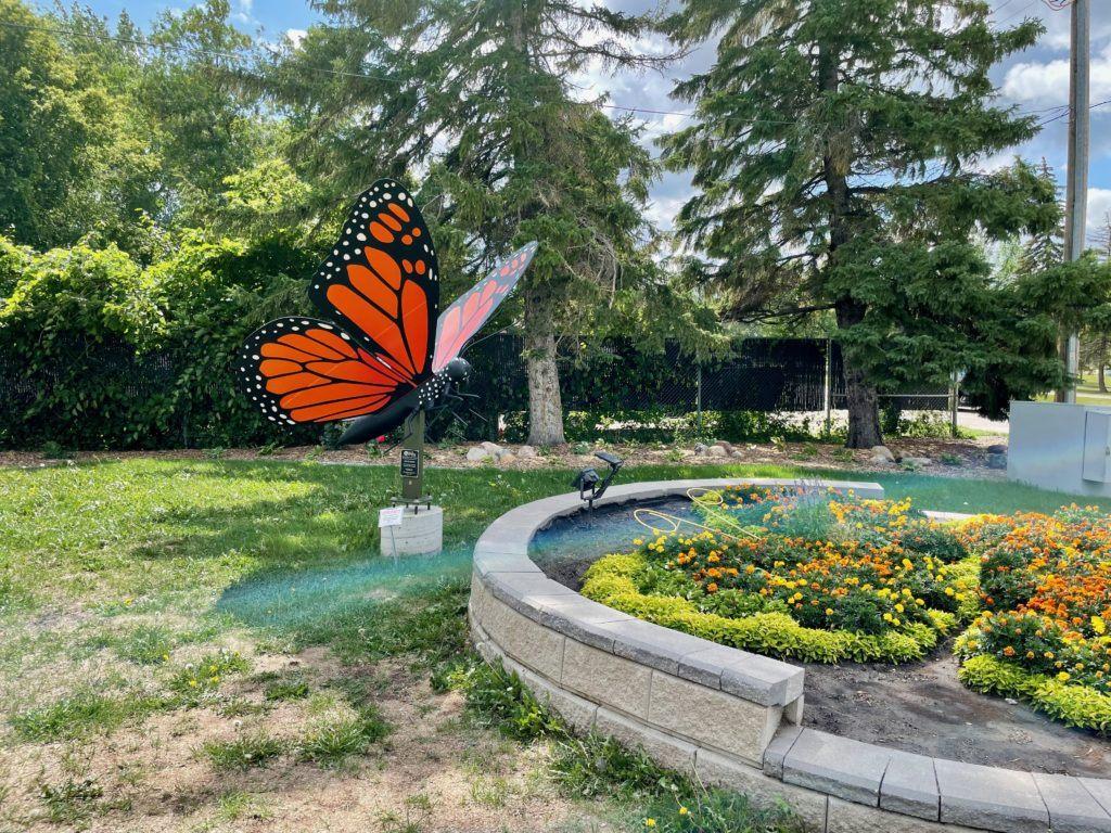 Butterfly park Morden Winkler